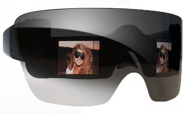 Lady Gaga's G20 sunglasses have a camera and two LCD screens.