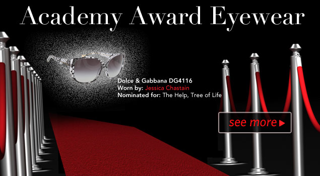 Academy Awards Nominee Eyewear Winners