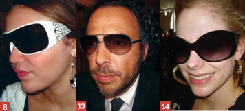 Celebrity eyewear sightings January 2008