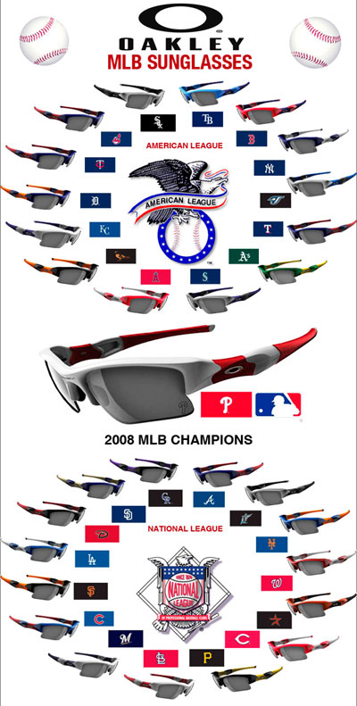 Oakley Major League Baseball Sunglasses